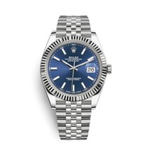 롤렉스 (Rolex) Datejust 41 126334   Blue Dial