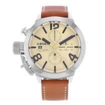 U-Boat U-7431 Classico Chronograph Date 45mm Automatic in...