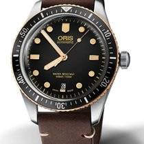 Oris Divers Sixty Five Bronze 40mm Black