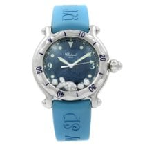 Chopard Happy Sport Steel 38mm Blue No numerals United States of America, New York, New York