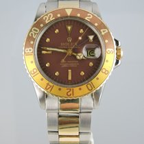 Rolex 1970 GMT-Master 1675 - Root Beer - Box & Papers