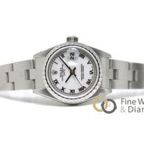 Rolex Oyster Perpetual Lady Date usados 26mm Acero