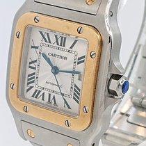 Cartier Santos Galbée Acero 29mm Gris Romanos Argentina, buenos aires