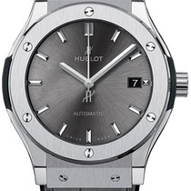 Hublot Classic Fusion Racing Grey Titanium 42mm Grey No numerals United States of America, Iowa