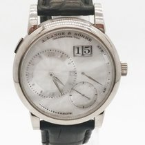 A. Lange & Söhne Lange 1 White gold 38.5mm Mother of pearl No numerals