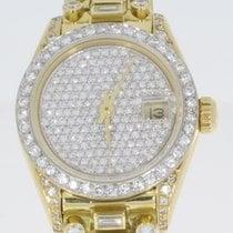 Rolex Lady-Datejust Gelbgold 26mm Champagnerfarben Keine Ziffern Deutschland, Wiesbaden