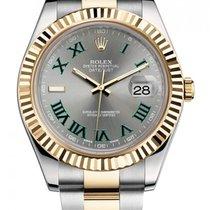 Rolex Datejust II новые 41mm Золото/Cталь