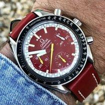 Omega Michel Schumacher Speedmaster Red Dial Mens watch + Box
