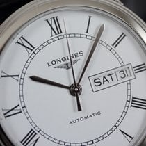 Longines L4.899.4.21.2 Staal Flagship 38,50mm nieuw