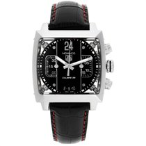 TAG Heuer Monaco Calibre 36 Steel 40.5mm Black United States of America, Georgia, Atlanta