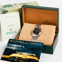 Rolex Air King Date Stal Srebrny