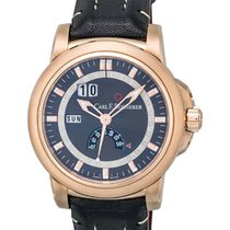 Carl F. Bucherer Patravi Rose gold 42.6mm Black