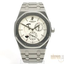 Audemars Piguet 26120ST.OO.1220ST.01 Steel 2008 Royal Oak Dual Time 39mm pre-owned