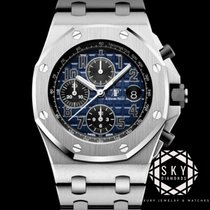 Audemars Piguet Royal Oak Offshore Chronograph Platina 42mm Plav-modar