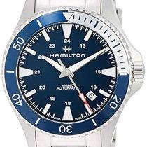 Hamilton Khaki Navy Scuba Steel 40mm Blue Arabic numerals