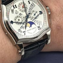 Roger Dubuis White gold 37mm Manual winding Roger dubuis perpetual calendar chrono pre-owned Singapore, Singapore