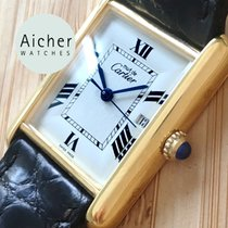 Cartier Tank (submodel) Silver White