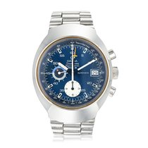 Omega Speedmaster Mark II Acero 40mm Azul