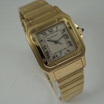 Cartier Santos Galbée Yellow gold 29mm White Roman numerals United States of America, Texas, Houston
