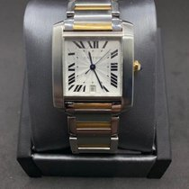 Cartier 2302 Steel 2000 Tank Française 28mm pre-owned United States of America, Texas, Frisco