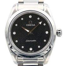 Omega Seamaster Aqua Terra Staal 28mm Zwart