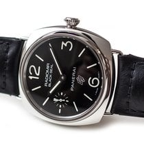 Panerai Radiomir Black Seal Acier 45mm Noir Arabes France, Paris