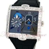 Harry Winston Avenue Squared A2 Automatic Dual Time, Grey...