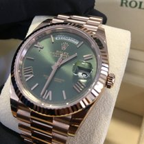 Rolex Day-Date 228235 18ct Everose Gold - 60th Anniversary Dial