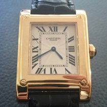 1c50b542b5d Cartier Tank a Vis 18k yellow gold Ref.2608F Full Set