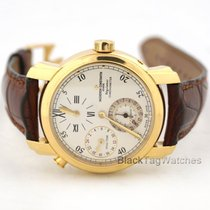 Vacheron Constantin Malte Dual Time 18k Yellow  Gold Regulator...