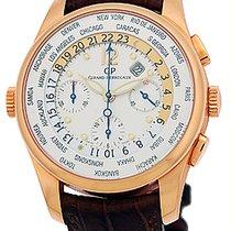 "Girard Perregaux ""World Timer"" Chronograph Strapwatch."