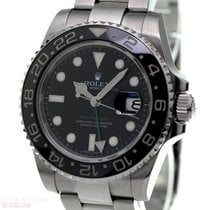 Rolex GMT Master II Ref-116710LN Stainless Steel Box Papers...