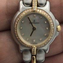 Bertolucci Ladies Pulchra 18k & Stainless Steel Diamond...