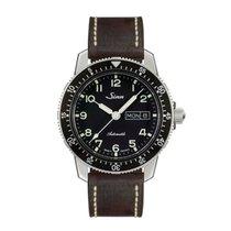 Sinn 104 St Sa A classic pilot watch leather strap NEW