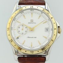 Zenith Elite Dual Time 90-410030 pre-owned