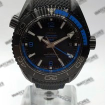 Omega Planet Ocean 600M Co-Axial Master Chronometer Deep Black...