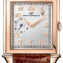 Girard Perregaux Vintage 1945 Rose gold 33.3mm Silver Arabic numerals