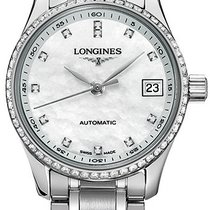 Longines Steel Automatic Mother of pearl 25.5mm new Master Collection