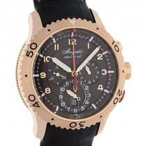 Breguet Type XXII Flyback Gmt 3880br/z2/9xv Rose Gold 44mm