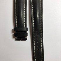 Breitling Armband Leder Schwarz 24mm