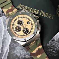 Audemars Piguet Royal Oak Offshore Chronograph Stahl 44mm Champagnerfarben