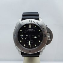 Panerai 47mm Automatico 2015 usato Luminor Submersible 1950 3 Days Automatic Nero