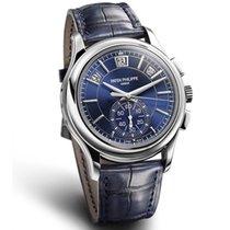 Patek Philippe Annual Calendar Chronograph Blue Dial Platinum