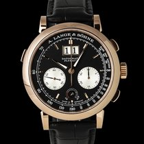A. Lange & Söhne Datograph pre-owned 41mm Red gold