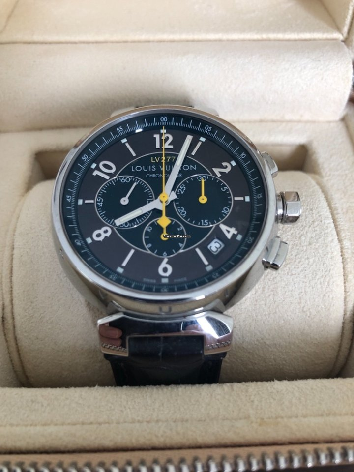 Tag Watches For Sale >> Louis Vuitton Tambour Chronograph El Primero LV 277 for $5,886 for sale from a Private Seller on ...