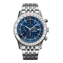 Breitling Navitimer World new 2018 Automatic Watch with original box and original papers A2432212/C561