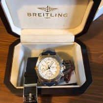 Breitling Chronomat Stahl 39mm Weiß Keine Ziffern Schweiz, Basel