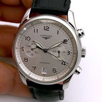 Longines Steel Automatic White Arabic numerals 40mm pre-owned Master Collection