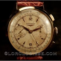 Longines Red gold Chronograph 38mm pre-owned