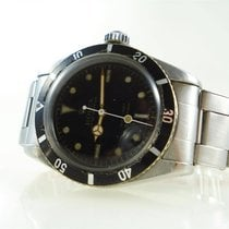 Rolex 6538 Steel 1956 Submariner (No Date) 38mm pre-owned